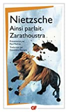 Ainsi parlait Zarathoustra by Friedrich…