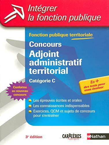Concours Adjoint Administratif Territorial Fonction Publique