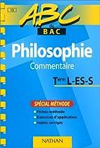 ABC du bac, philosophie niveau terminale,…