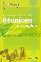 Réunions en anglais by Collectif