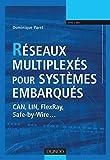 couverture du livre Réseaux multiplexés pour systèmes embarqués