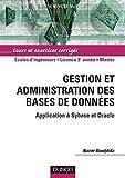 couverture du livre Gestion et administration des bases de données