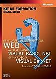 couverture du livre Développer des applications Web avec Microsoft Visual Basic.NET et Microsoft Visual C# .NET