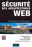 couverture du livre Sécurité des architectures web