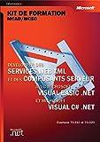 couverture du livre Développer des Services Web XML et des composants serveur avec Microsoft Visual Basic .NET et Visual C# .NET