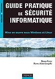 couverture du livre Guide pratique de sécurité informatique