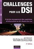 couverture du livre Challenges pour les DSI