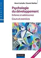 Psychologie du développement : Enfance et…