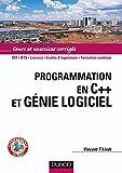 couverture du livre Programmation en C++ et génie logiciel