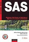 couverture du livre Maîtriser SAS Base et SAS Macro (SAS 9 et versions antérieures)