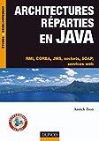 couverture du livre Architectures réparties en Java