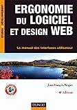 couverture du livre Ergonomie du logiciel et design web