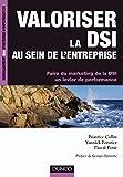 couverture du livre Valoriser la DSI au sein de l'entreprise