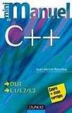 couverture du livre Minimanuel de C++