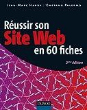 couverture du livre Réussir son site web en 60 fiches