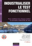 couverture du livre Industrialiser le test fonctionnel