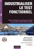 couverture du livre Industrialiser le test fonctionnel