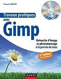 couverture du livre Travaux pratiques avec Gimp - 2e éd