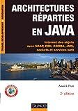couverture du livre Architecture Réparties en JAVA
