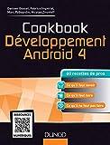 couverture du livre Cookbook Développement Android 4