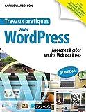 couverture du livre Travaux pratiques avec WordPress