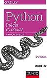 couverture du livre Python - Précis et concis