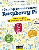 couverture du livre Je programme avec un Raspberry Pi