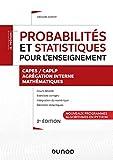 Probabilités et statistiques pour l'enseignement