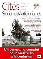 Cités 47-48, 2011: Sionismes/Antisionismes…