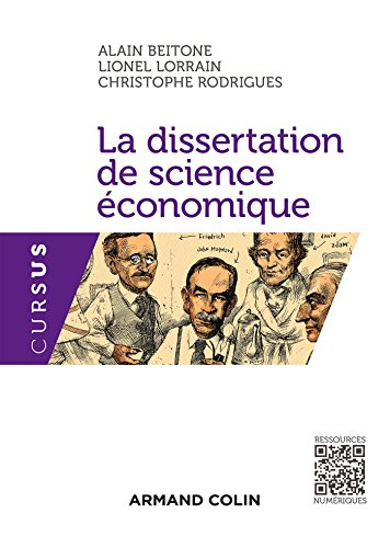 Dissertation methode economie
