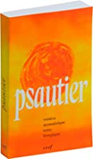 Psautier liturgique broche orange (French…