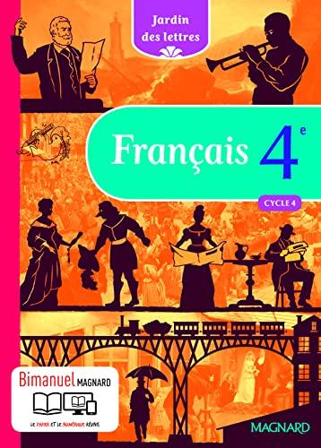 Jardin Des Lettres Francais 4e Cycle 4 Detail