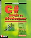 couverture du livre C# guide du développeur