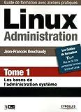 couverture du livre Linux Administration