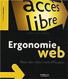 couverture du livre Ergonomie Web