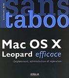 couverture du livre Mac OS X Leopard efficace