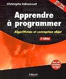 couverture du livre Apprendre à programmer