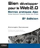 couverture du livre Bien développer pour le Web 2.0