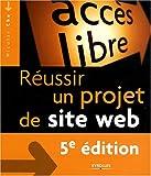 couverture du livre Réussir un projet de site Web