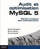 couverture du livre Audit et optimisation MySQL 5