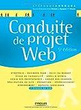 couverture du livre Conduite de projet Web (1Cédérom)
