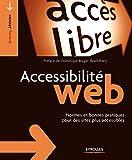 couverture du livre Accessibilité web