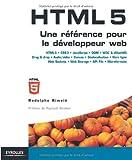 couverture du livre HTML5 : Une référence pour le développeur web