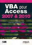 couverture du livre VBA pour Access