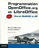 couverture du livre Programmation OpenOffice.org et LibreOffice