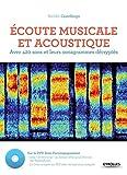 Ecoute musicale et acoustique