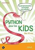 couverture du livre Python pour les kids