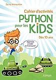 couverture du livre Cahier d'activités Python pour les kids