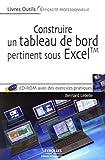 couverture du livre Construire un tableau de bord pertinent sous Excel