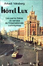 Hôtel Lux: les partis frères au…